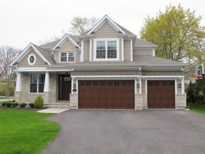 house with hardie siding installation chicago